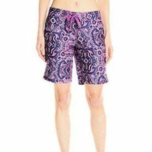 """Kanu Surf Women's """"Bisma""""Purple Board Shorts"""